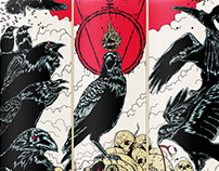 Crows - Jart Skateboards Artist Series