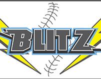 Bay Area Blitz Softball Logo