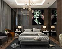 Artistic Modern Bedroom Design