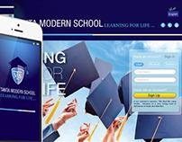 Tanta Modern School UI/UX