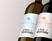 Wine Label Design: A Tale of 2 Mountains