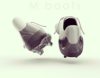 M boots