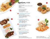 Quayside Seafood Restaurant Menu