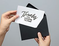 50+ Invitation & Greeting Card Mockup Designs