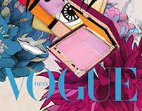 Vogue Nippon Beauty covers