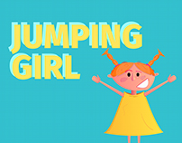 "Animation ""Jumping girl"""