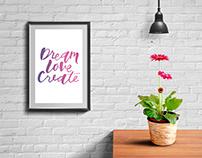 Dream love create