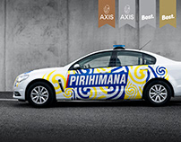 New Zealand Police - Pirihimana Patrol Car