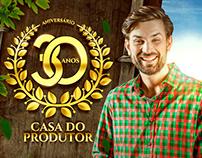 ANIVERSÁRIO 30 ANOS // Casa do Produtor