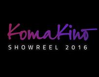Komakino • Showreel 2016