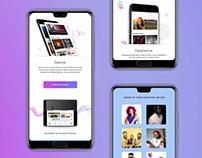Huawei Music Landing Page