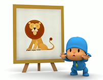 POCOYO / ANIMALS DOT TO DOT
