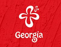 Tourism logo of Georgia