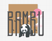 BAMBU - Typeface Design