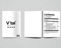 Vital - Editorial Design