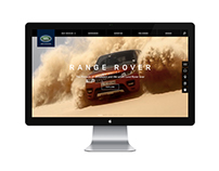 Land Rover website