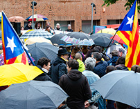 Concentration against the veto of the JEC - Catalonia