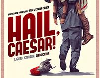 Hail, Caesar! / fan art poster