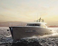 COR7¹⁰ Yacht Engineered by Cormorant Yachts