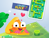 Sneaky Slice! Mobile Game