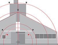 Robert Venturi's Vanna House, Geometric Analysis