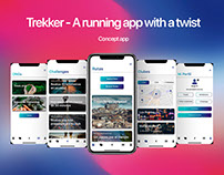 Trekker - A running app with a twist