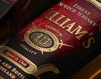 Williams Whisky - brand design