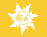 Sunscreen Packaging Poster Magazine
