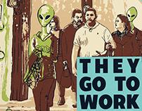 2018 UFO Festival Branding: Advertisements