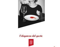 Charles Foster Kane saucer - Advertisement