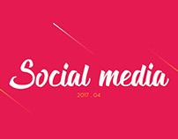 Social Media - 2017 . 04