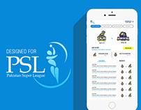 HBL PSL samsung 360 App design done for Blitz
