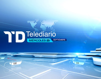 Opening titles - Tve Telediario 2012