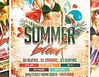 Summer Break V2 Flyer Template