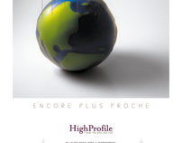 Printed Ad 2012 Voyages d'Affaires HighProfile