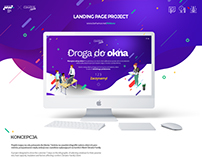 Landing page project design