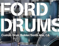 BRANDING: Ford Drums Co.