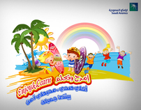 Project - Aramco  Qurayyah Beach Festival