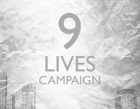 Print: 9 LIVES Campaign Booklet