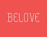 Belove Typeface