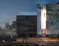 """New memorial museum complex """"BeitKadishin"""""""