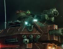 Warhammer Predator Tank