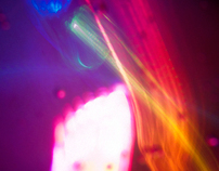 Underwater Light Painting