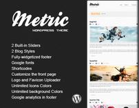 METRIC - Premium WordPress Theme