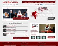 ArteOrchestra - Site concept