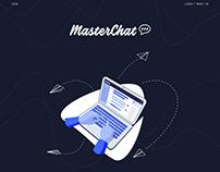 MasterChat Landing - UI