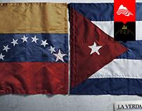 flags / la verdad ( the true newspaper)