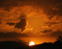 Panamá sunsets... puestas del sol de Panamá