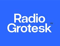 Radio-Grotesk ~ Free Font