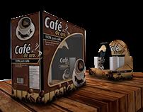 EMPAQUE DE CAFÉ.